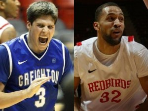 Doug McDermott (left) and Jackie Carmichael Will Battle It Out Friday Evening