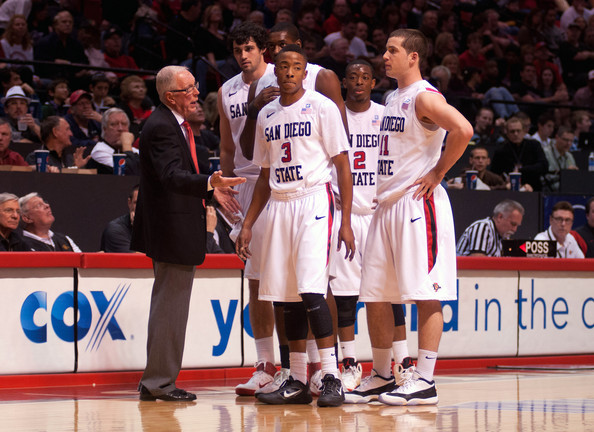 Steve Fisher is Leading This Year's Aztecs to Unexpected Success (Getty Images/K. Horner)
