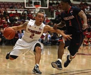 Aaron Bright And Stanford Have Slowed A Bit As The Quality Of Opponent Has Increased (photo credit: Liza Hafalia, San Francisco Chronicle)