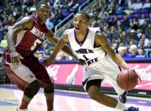 Who's The Best Team In The Big Sky? Damian Lillard (ball) and Weber State Answered That Question After Its Impressive Win Over Montana