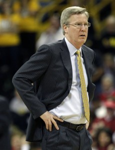 McCaffery's Hawkeyes will need to get some stops if they hopse to get to the Sweet 16. (AP/C. Neibergall)