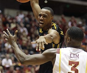 Matt Pressey Showed Big Time Toughness in Mizzou's Win Over Iowa State (AP Photo)