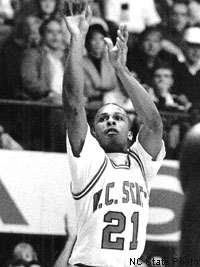 Rodney Monroe remains the all-time leading scorer in NC State history.