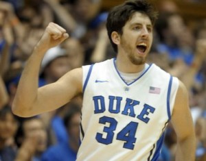 Duke's Ryan Kelly has Bumped His FT Percentage Up 50 Percent This Season