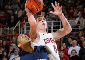 Davidson's J.P. Kuhlman Reached The 1,000-point Milestone