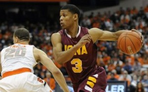 Iona's Scott Machado Has Been On Fire Lately