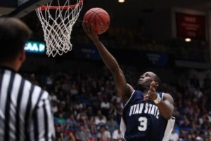 Brockeith Pane and Utah State Find Themselves Looking Up In The Standings ... A Position The Aggies Aren't Used To