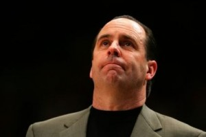 Veteran Coach Mike Brey Has Tailored His Offense To Fit His Personnel This Season (AP)