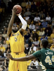 Leonard Washington Was A One-Man Wrecking Crew On The Glass For Wyoming This Week (photo credit: Andy Carpenean/WyoSports)