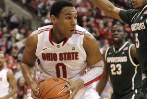 Containing Jared Sullinger will be the top priority for MSU. (Greg Shamus/Getty)