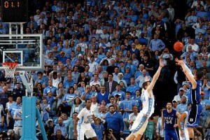 As A College Basketball Fan, Austin Rivers' 3 Was As Dramatic As They Come. As a UNC Grad...Well, You Get The Picture (AP)