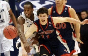 The Battle On The Court Between Saint Mary's and BYU Wasn't The Only Storyline Of That Contest (AP)