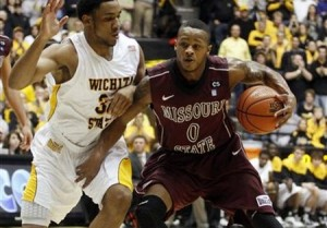 Anthony Downing of Missouri State Earned the MVC Newcomer of the Year (AP)