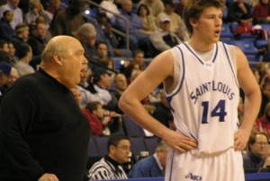 Rick Majerus, Brian Conklin (14) And The Rest Of The Billikens Will Need Some Help From Conference Mates To Get Back To First Place (AP)