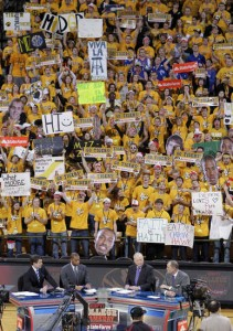 Missouri Turned Up The Volume For The Gameday Crew. (Rich Sugg/Kansas City Star)