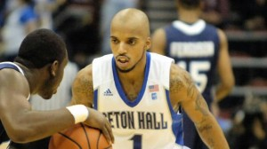 Jordan Theodore was Locked In for Seton Hall on Tuesday (Seton Hall Athletics)
