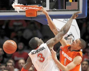 Michael Carter-Williams Had the Memorable Highlight from Syracuse's Dominant Win Last Week (AP Photo)