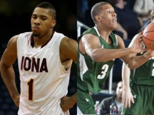 Michael Glover (left) and Dylan Cormier Are Just Two Key Players To Watch In Tonight's Critical Matchup Between Iona and Loyola