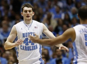 Tyler Zeller is Running Full Speed Ahead as ACC Player of the Week Heading into Tonight (AP Photo/G. Broome)