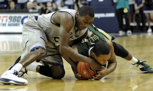 The Hoyas Have Been Strong on Defense All Season Long (AP Photo/R. Lipski)