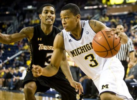 Trey Burke and the Wolverines capped off a tough stretch of games (AP)