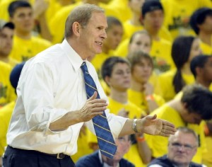 John Beilein has his Wolverines clicking on all cylinders. (AnnArbor.com/Lon Horwedel)