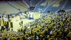 Thousands of Fans Packed Mizzou Arena for College Gameday