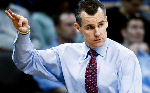 Billy Donovan's Gators are the frontrunner in the SEC until they prove otherwise. (AP)