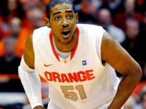 Fab Melo's Importance To The Orange Was On Full Display Last Week