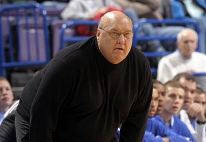 In His Twilight, Rick Majerus Led SLU To A Tournament Upset Over Memphis. (AP)
