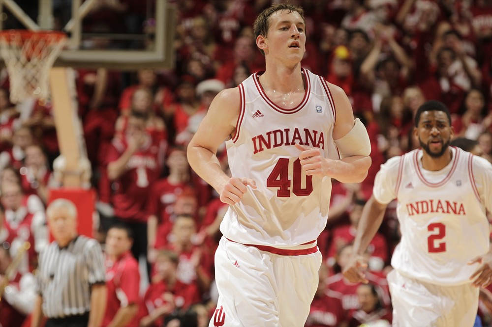 Cody Zeller's Hoosiers made a strong statement against the Spartans on the road.