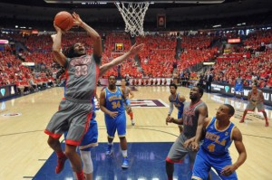 Arizona Took Care Of Business Against The Los Angeles Schools And Can Now Earn A First-Round Bye (Chris Morrison/US Presswire)