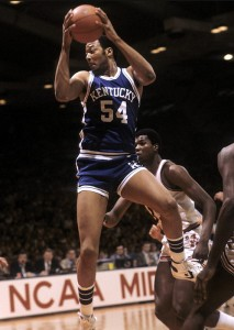 Kentucky's Mel Turpin kept the Wildcats in the game with 18 points.