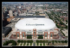 St. Louis' Edward Jones Dome Hosts the Midwest Regional Finals