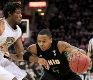 D.J. Cooper is an Explosive Guard for Ohio (AP Photo/T. Dejak)