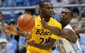 Getting Larry Anderson (21) Back In The Lineup Will Be Key To The Beach's Upset Potential (AP)