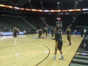 Missouri Joked Its Way Through Practice, But Still With Great Energy.