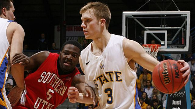 Four-year runs like the one Nate Wolters is putting together happen very rarely. (South Dakota State Photo)