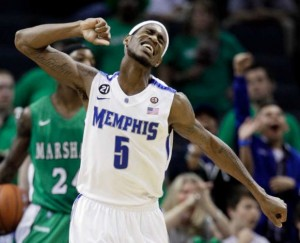 Will Barton Is a Fiery Competitor Having an Outstanding Season for Memphis (AP Photo/M. Humphrey)