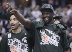 Draymond Green helped Michigan State to a fantastic season nobody saw coming. (AP)