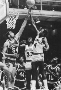 Both teams, and their fans, were amped up for the 1983 Midwest Regional Final.