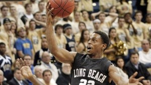 Casper Ware is an Explosive Guard for the Dangerous LBSU 49ers (AP Photo/K. Srakocic)