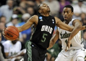 D.J. Cooper Hasn't Allowed #13 Ohio to Lose (AP Photo/B. Rucker)