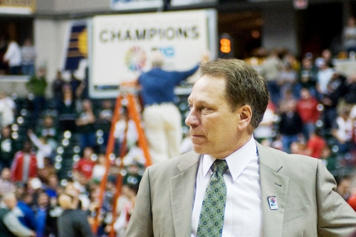 Tom Izzo, a master in March, leads one of seven Big Ten teams dancing this year.  (Justin Wan/The State News)