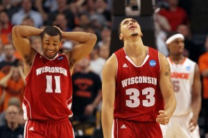 Wisconsin is Devastated After Coming so Close Against Syracuse (Getty Images/J. Rogash)