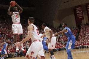 Indiana and Kentucky collide for the second time this year in the Sweet 16 (photo: College Sports Madness)