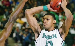 Tony Mitchell's Outstanding Season Earned Him Player of the Year Honors (Denton Record-Chronicle)