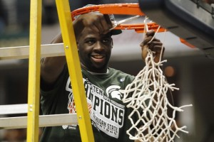 Will Draymond Green have a chance to cut down the nets in another Final Four? (photo: Reuters)