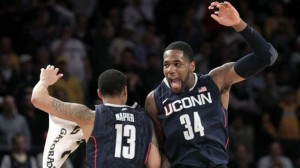 UConn Keeps Their Run Alive in the Big East Tournament (AP Photo)