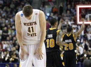 Wichita State Was Devastated After Shaka Smart's Boys Pulled Another Upset (US Presswire)